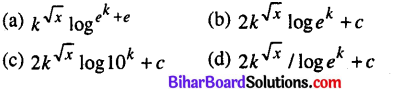 Bihar Board 12th Maths Model Question Paper 1 in English Medium - 1