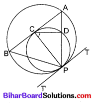 Bihar Board Class 10 Maths Solutions Chapter 10 वृत्त Additional Questions LAQ 3