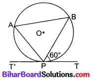 Bihar Board Class 10 Maths Solutions Chapter 10 वृत्त Additional Questions MCQ 4