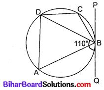 Bihar Board Class 10 Maths Solutions Chapter 10 वृत्त Additional Questions MCQ 5