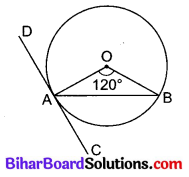 Bihar Board Class 10 Maths Solutions Chapter 10 वृत्त Additional Questions MCQ 6