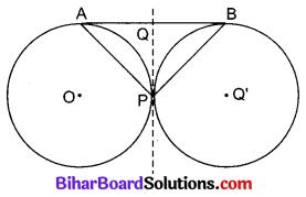 Bihar Board Class 10 Maths Solutions Chapter 10 वृत्त Additional Questions SAQ 3