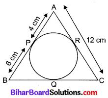 Bihar Board Class 10 Maths Solutions Chapter 10 वृत्त Additional Questions SAQ 5