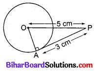 Bihar Board Class 10 Maths Solutions Chapter 10 वृत्त Additional Questions VSAQ 2