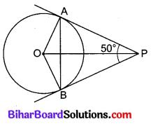 Bihar Board Class 10 Maths Solutions Chapter 10 वृत्त Additional Questions VSAQ 5