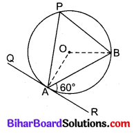 Bihar Board Class 10 Maths Solutions Chapter 10 वृत्त Additional Questions VSAQ 7