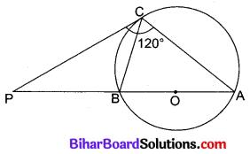 Bihar Board Class 10 Maths Solutions Chapter 10 वृत्त Additional Questions VSAQ 8