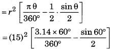 Bihar Board Class 10 Maths Solutions Chapter 12 वृतों से संबंधित क्षेत्रफल Ex 12.2 Q6