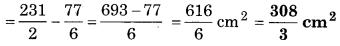 Bihar Board Class 10 Maths Solutions Chapter 12 वृतों से संबंधित क्षेत्रफल Ex 12.3 Q14.3