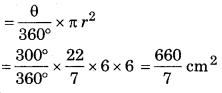 Bihar Board Class 10 Maths Solutions Chapter 12 वृतों से संबंधित क्षेत्रफल Ex 12.3 Q4.2
