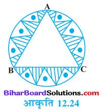 Bihar Board Class 10 Maths Solutions Chapter 12 वृतों से संबंधित क्षेत्रफल Ex 12.3 Q6