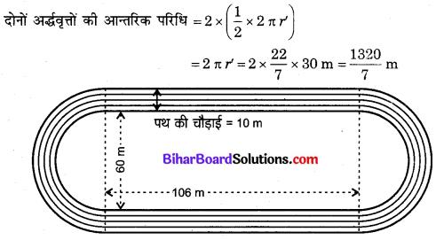Bihar Board Class 10 Maths Solutions Chapter 12 वृतों से संबंधित क्षेत्रफल Ex 12.3 Q8.1