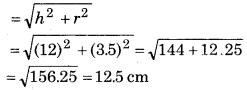 Bihar Board Class 10 Maths Solutions Chapter 13 पृष्ठीय क्षेत्रफल एवं आयतन Ex 13.1 Q3.1