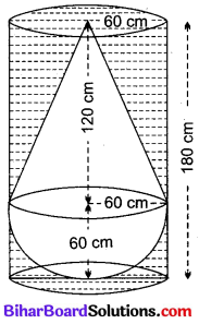 Bihar Board Class 10 Maths Solutions Chapter 13 पृष्ठीय क्षेत्रफल एवं आयतन Ex 13.2 Q7