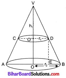 Bihar Board Class 10 Maths Solutions Chapter 13 पृष्ठीय क्षेत्रफल एवं आयतन Ex 13.5 Q6