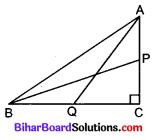Bihar Board Class 10 Maths Solutions Chapter 6 त्रिभुज Additional Questions LAQ 1