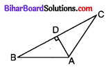 Bihar Board Class 10 Maths Solutions Chapter 6 त्रिभुज Additional Questions SAQ 7