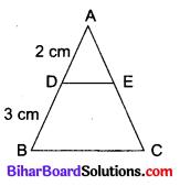 Bihar Board Class 10 Maths Solutions Chapter 6 त्रिभुज Additional Questions VSQ 1