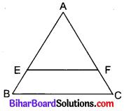 Bihar Board Class 10 Maths Solutions Chapter 6 त्रिभुज Additional Questions VSQ 2