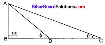 Bihar Board Class 10 Maths Solutions Chapter 8 त्रिकोणमिति का परिचय Additional Questions LAQ 1