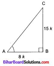 Bihar Board Class 10 Maths Solutions Chapter 8 त्रिकोणमिति का परिचय Ex 8.1 Q4