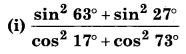 Bihar Board Class 10 Maths Solutions Chapter 8 त्रिकोणमिति का परिचय Ex 8.4 Q3