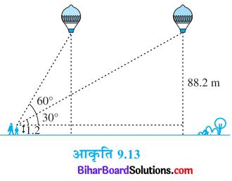 Bihar Board Class 10 Maths Solutions Chapter 9 त्रिकोणमिति के कुछ अनुप्रयोग Ex 9.1 Q14