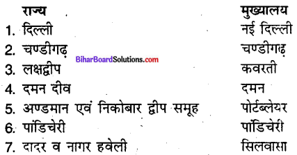 Bihar Board Class 9 Geography Solutions Chapter 1 स्थिति एवं विस्तार - 3
