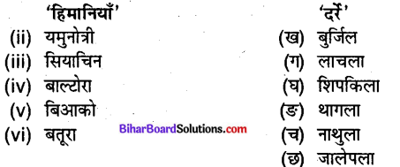 Bihar Board Class 9 Geography Solutions Chapter 2 भौतिक स्वरूप संरचना एवं उच्चावच - 4