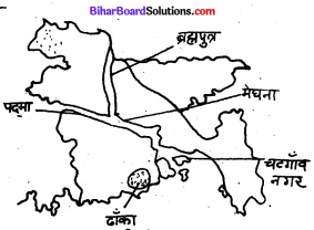 Bihar Board Class 9 Geography Solutions Chapter 7 भारत के पड़ोसी देश - 2
