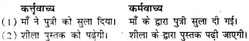Bihar Board Class 9 Hindi व्याकरण वाच्य परिवर्तन- 2