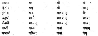 Bihar Board Class 7 Sanskrit व्याकरण शब्दरूपाणि 16