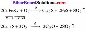 BIhar Board Class 12 Chemistry Chapter 6 तत्त्वों के निष्कर्षण के सिद्धान्त एवं प्रक्रम img 7