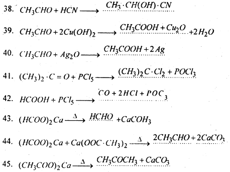 Bihar Board 12th Chemistry Important Questions Short Answer Type Part 3, 12