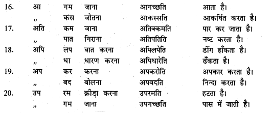 Bihar Board 12th Pali Grammar Important Questions 3