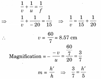 Bihar Board Class 10 Science Solutions Chapter 10 Light Reflection and Refraction 10