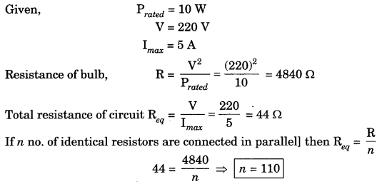 Bihar Board Class 10 Science Solutions Chapter 12 Electricity 21